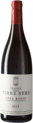 24,95 € Free Shipping | Red wine Tenuta Nere Rosso D.O.C. Etna Italy Bottle 75 cl