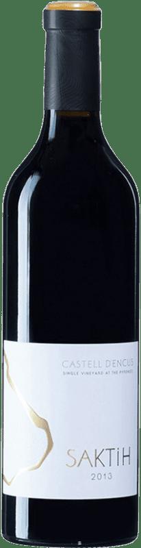 144,95 € Free Shipping | Red wine Castell d'Encús Saktih D.O. Costers del Segre Spain Cabernet Sauvignon, Petit Verdot Bottle 75 cl