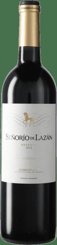 8,95 € Envoi gratuit   Vin rouge Pirineos Señorío de Lazán Reserva D.O. Somontano Catalogne Espagne Bouteille 75 cl