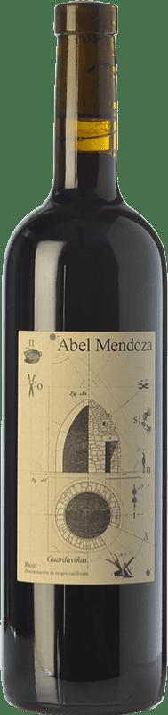 22,95 € Envoi gratuit | Vin rouge Abel Mendoza Sin Sulfuroso D.O.Ca. Rioja Espagne Tempranillo Bouteille 75 cl
