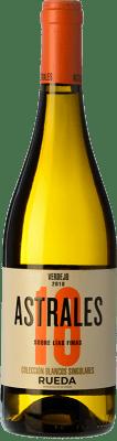 16,95 € Envoi gratuit | Vin blanc Astrales Sobre Lías Finas D.O. Rueda Castille et Leon Espagne Verdejo Bouteille 75 cl