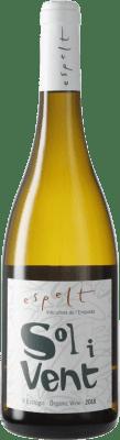 8,95 € Free Shipping | White wine Espelt Sol i Vent Blanc D.O. Empordà Catalonia Spain Syrah, Grenache, Monastrell Bottle 75 cl