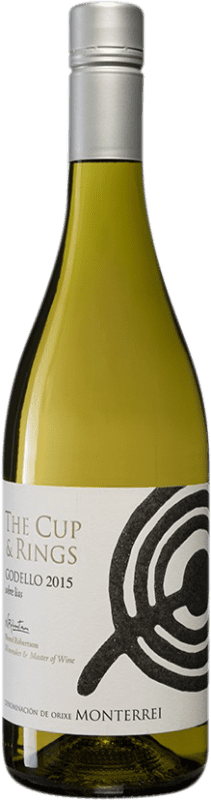9,95 € Free Shipping | White wine El Escocés Volante The Cup And Rings D.O. Monterrei Spain Godello Bottle 75 cl