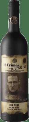 9,95 € Envío gratis | Vino tinto 19 Crimes The Uprising I.G. Southern Australia Southern Australia Australia Botella 75 cl