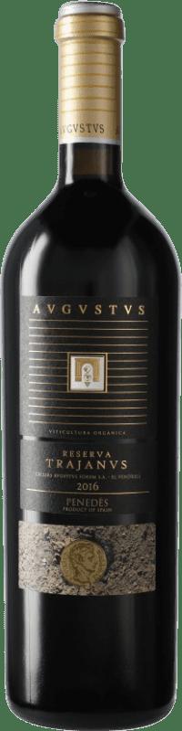 19,95 € Free Shipping | Red wine Augustus Trajanus D.O. Penedès Catalonia Spain Bottle 75 cl