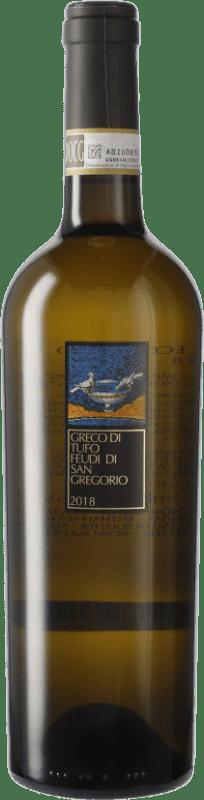 17,95 € Envío gratis | Vino blanco Feudi di San Gregorio Tufo I.G.T. Campania Campania Italia Greco Botella 75 cl