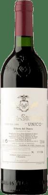 599,95 € Free Shipping | Red wine Vega Sicilia Único 1990 D.O. Ribera del Duero Castilla y León Spain Tempranillo, Cabernet Sauvignon Bottle 75 cl