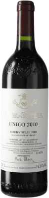 351,95 € Free Shipping | Red wine Vega Sicilia Único Gran Reserva 2010 D.O. Ribera del Duero Castilla y León Spain Tempranillo, Cabernet Sauvignon Bottle 75 cl