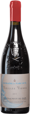 137,95 € Kostenloser Versand | Rotwein Domaine de Marcoux V.V. A.O.C. Châteauneuf-du-Pape Frankreich Grenache Flasche 75 cl