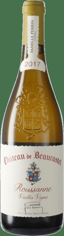 168,95 € Free Shipping   White wine Château Beaucastel V.V. A.O.C. Châteauneuf-du-Pape France Roussanne Bottle 75 cl