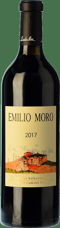 19,95 € Free Shipping | Red wine Emilio Moro Vendimia Seleccionada D.O. Ribera del Duero Castilla y León Spain Tempranillo Bottle 75 cl