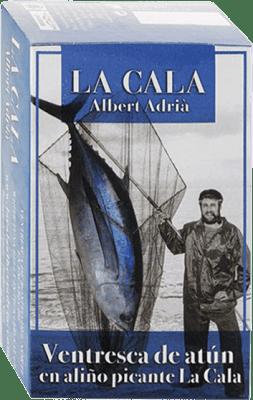 8,95 € Kostenloser Versand | Conservas de Pescado La Cala Ventresca de Atún Aliño Picante Spanien