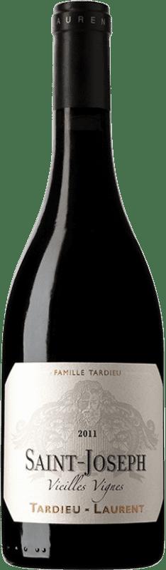 34,95 € Envío gratis | Vino tinto Tardieu-Laurent Vieilles Vignes A.O.C. Saint-Joseph Francia Botella 75 cl
