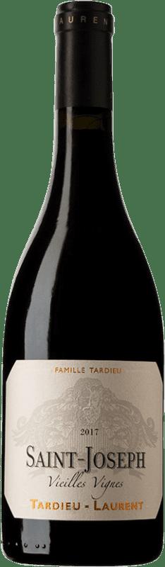 42,95 € Free Shipping | Red wine Tardieu-Laurent Vieilles Vignes A.O.C. Saint-Joseph France Syrah, Serine Bottle 75 cl