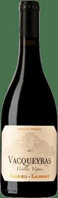29,95 € Free Shipping | Red wine Tardieu-Laurent Vieilles Vignes A.O.C. Vacqueyras France Syrah, Grenache Bottle 75 cl