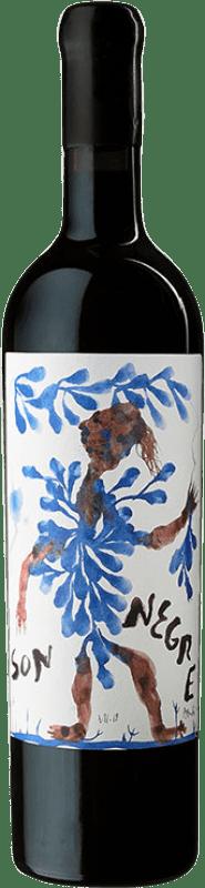 208,95 € Free Shipping | Red wine Ànima Negra Vinya Son Negre I.G.P. Vi de la Terra de Mallorca Majorca Spain Callet, Fogoneu, Mantonegro Bottle 75 cl