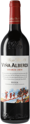 18,95 € Free Shipping | Red wine Rioja Alta Viña Alberdi Crianza D.O.Ca. Rioja Spain Bottle 75 cl