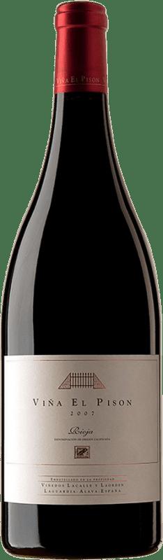 1 035,95 € Envoi gratuit | Vin rouge Artadi Viña El Pisón 2007 D.O. Navarra Navarre Espagne Tempranillo Bouteille Magnum 1,5 L