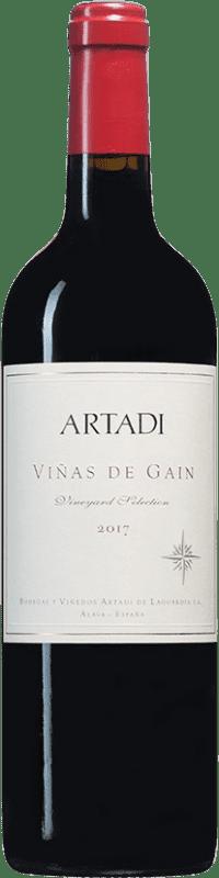19,95 € Envoi gratuit | Vin rouge Artadi Viñas de Gain D.O. Navarra Navarre Espagne Tempranillo Bouteille 75 cl