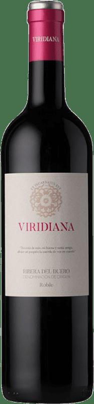 7,95 € Envío gratis | Vino tinto Dominio de Atauta Viridiana D.O. Ribera del Duero Castilla y León España Botella 75 cl