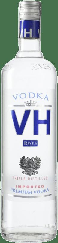 9,95 € Envío gratis | Vodka Rives Von Haupold Premium España Botella Misil 1 L