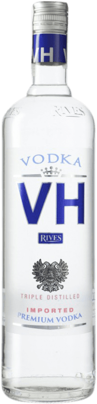 9,95 € Free Shipping   Vodka Rives Von Haupold Premium Spain Missile Bottle 1 L