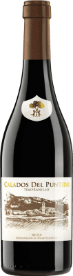 13,95 € Spedizione Gratuita | Vino rosso Páganos Calados del Puntido 2014 D.O.Ca. Rioja La Rioja Spagna Tempranillo Bottiglia 75 cl