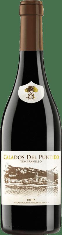 13,95 € Free Shipping | Red wine Páganos Calados del Puntido 2014 D.O.Ca. Rioja The Rioja Spain Tempranillo Bottle 75 cl